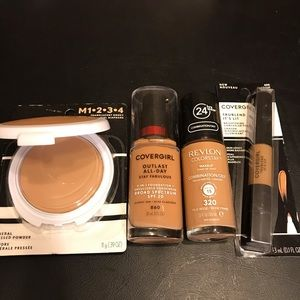 New Medium/Tan Makeup Bundle.